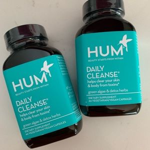 (2) NEW//SEALED HUM nutrition Daily Cleanse
